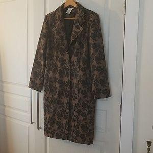 Brocade coat by George